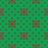 кладет подарок в коробку рождества цветастый картина праздника безшовная Стоковые Изображения RF