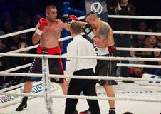 Кладя в коробку бой Oleksandr Usyk против Danie Venter Стоковые Изображения