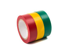 Клейкая лента для герметизации трубопроводов отопления и вентиляции цвета Стоковые Фото