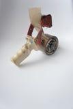Клейкая лента для герметизации трубопроводов отопления и вентиляции Стоковая Фотография