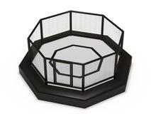 Клетка восьмиугольника иллюстрация штока