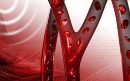 Клетка крови Стоковые Изображения RF