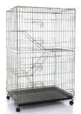 Клетка клети или животного кота провода Стоковые Фото