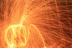 Клетка стальных шерстей Стоковые Изображения RF