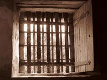 Клетка тюрьмы Ричмонда Стоковое Изображение RF