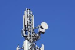 Клетки башенной антенны радиосвязей для мобильных телефонных связей Стоковое Изображение