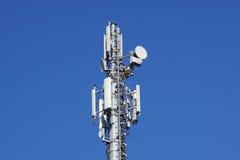 Клетки башенной антенны радиосвязей для мобильных телефонных связей Стоковая Фотография RF