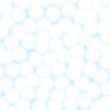 Клетки или предпосылка шариков хлопка абстрактная Стоковое Фото