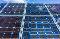 Клетки солнечной энергии Стоковые Изображения