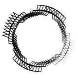 Клетчатая решетка, картина сетки с кругами от разбивочное Repeatable Стоковое Изображение RF