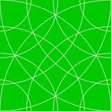 Клетчатая решетка, картина сетки с кругами от разбивочное Repeatable Стоковая Фотография