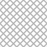 Клетчатый, картина решетки безшовная черно-белая Стоковая Фотография RF