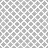 Клетчатый, картина решетки безшовная черно-белая Стоковое Изображение RF