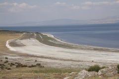 К западу от озера Burdur Стоковые Фотографии RF