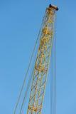 Кливер крана детали против голубого неба стоковые фото