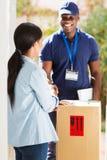 Клиент handshaking человека стоковые изображения