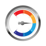 Климат датчика температуры Иллюстрация вектора