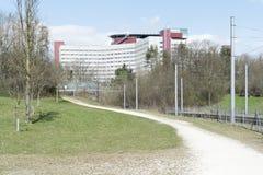 Клиника в Аугсбурге Стоковые Фотографии RF