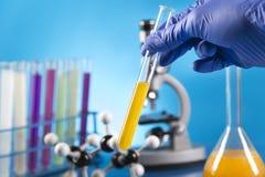 Клинические испытания в лаборатории Стоковое Изображение