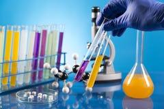 Клинические испытания в лаборатории Стоковые Фото