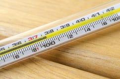 клинический термометр стержня Стоковое Фото