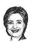 Клинтон hillary бесплатная иллюстрация