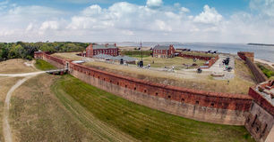 Клинч форта стоковые изображения rf