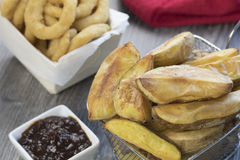 Клин картошки Стоковое фото RF