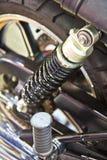 клиппирование амортизатора изолировало белизну удара путя Стоковые Изображения RF