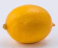 клиппирование предпосылки внутри белизны путя лимона Стоковая Фотография
