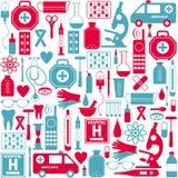 клиппирование содержит комплект путя цифровой иллюстрации иконы медицинский Стоковая Фотография