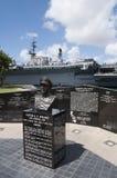Клифтон a f Мемориал Sprague - Сан-Диего, CA Стоковые Изображения RF