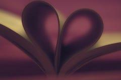 К книгам с влюбленностью Стоковые Фото