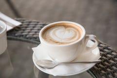 К кофе влюбленности Стоковое фото RF