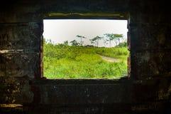 к миру окна стоковое изображение rf