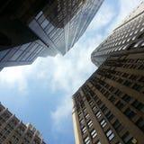 К небу небоскребы Стоковое фото RF