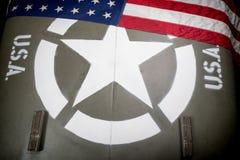 Клобук военного транспортного средства Стоковая Фотография