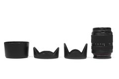 Клобук объектива фотоаппарата Стоковые Изображения RF