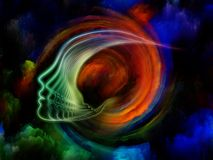 Клонирование души иллюстрация вектора