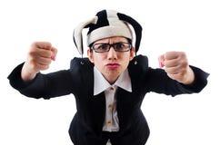 Клоун бизнесмена Стоковая Фотография RF