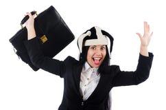 Клоун бизнесмена Стоковые Изображения RF