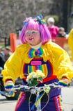 Клоун в параде Стоковое фото RF