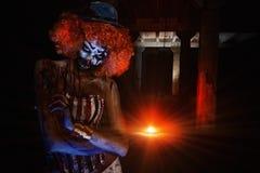Клоун изверга Стоковое Изображение