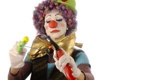 Клоун и рогатка видеоматериал
