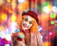 Клоун партии Стоковая Фотография