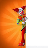 Клоун потехи бесплатная иллюстрация