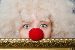 клоун смешной Стоковые Изображения RF