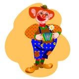 клоун счастливый Стоковое фото RF