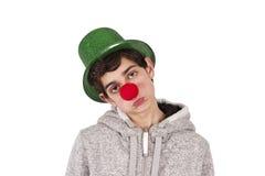 клоун унылый Стоковое Изображение RF