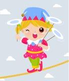 Клоун цирка бесплатная иллюстрация
